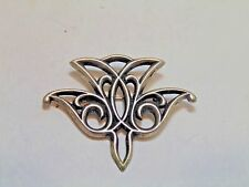 Sterling Silver James Avery Descending Dove Pin Brooch