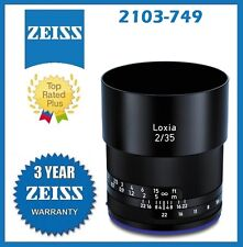 Zeiss Loxia 35mm f/2 Biogon T* Lens for Sony E Mount Mfr # 2103-749