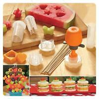 New Pop Chef Food #L Decorator 6 Shape Cake Fruit Maker Kitchen Tool Hot