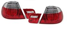 Red clear LED tail lights rear lights for M3 look for BMW E46 Coupe 99-03