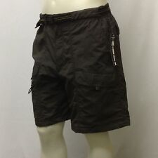NWT Basic Editions Men's Cargo Shorts LARGE Gray Green light weight quick dry