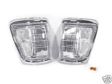1992 1993 1994 1995 TOYOTA PICKUP 4WD TRUCK CLEAR CORNER LIGHTS DEPO