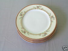 4 ROYAL EMBASSY ADRIAN GOLD TRIM ELEGANT FINE CHINA MADE IN JAPAN DINNER PLATE