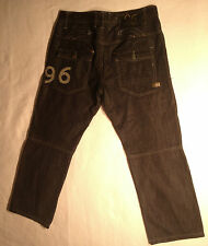 EUC - As New - RRP $369 - Mens G-Star Raw 10 Yr Anni. '96 ELWOOD' Jeans Size 34
