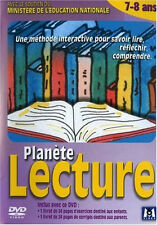 12461 // PLANETE LECTURE 7/8 ANS +2 LIVRETS 24 PAGES DVD NEUF