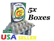 5 Boxes of C24/7 Natura-Ceuticals Food supplement ,by Nature's way USA,
