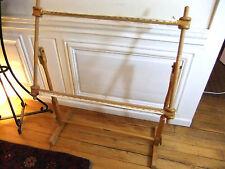 métier ancien à broder ou à tapisserie pour travail jusqu'à largeur 75 cm