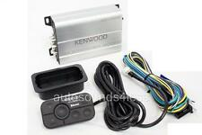 Kenwood KAC-M1824BT 400 Watts 4-Channel Class D Marine Amplifier Bluetooth New