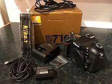 Nikon D7100 24.1MP Digital SLR Camera - Black (Body only)
