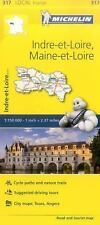 Maps/Local (Michelin): Michelin FRANCE Indre-Et-Loire, Maine-et-Loire Map 317...