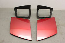 93-97 Ford Probe Laser Red Headlight Head Light Lamp Surround Cover Set Pair C