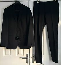 "Hugo Boss Huge1/Genius1 Dark Blue Men's Suit UK98 40""EU50 Longer Fit Rrp£530 New"