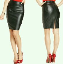 GUESS Faux-Leather Pocket Pencil Skirt