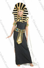 Nefertiti Deluxe Black Costume for Adult size S (5-7) New by Charades 02303