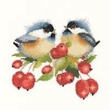 10% Off Heritage Crafts Counted X-stitch chart - Berry Chick-Chat