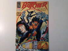 BUTCHER #1 by Baron & Pensa, published 1990 by DC Comics USA.  VFn-