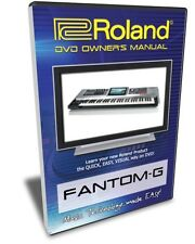 Roland Fantom-G DVD Video Training Tutorial G6 G7 G8
