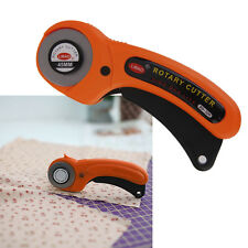 45mm Rotary Cutter Premium Quilters Sewing Fabric Leather Craft Cutting Tool
