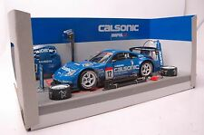 Nissan Calsonic Impluz car model in scale 1:24