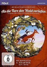 Als die Tiere den Wald verließen, Staffel 1 (2 DVDs) Zeichentrickserie