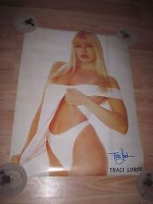 Tracy/Traci Lords Signed White Calvin Klein Undies Wall Poster/Free Shipping!