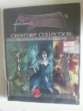 D20 Sword & Sorcery criatura Colección D&D 4th edición 4E