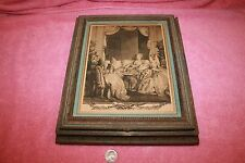 Vintage Picture Frame Vanity Box with Mirror Inside