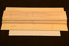 Rc Trainer Plane SWEET STIK Laser Cut Short Kit & Plans, 52 in. wing span