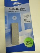 Cramer Bath Repair Rubber removes scuffs on bath-basins