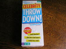 Buffalo Games Ripped From the Headlines CELEBRITY THROW DOWN! For 3+ Players~NIB