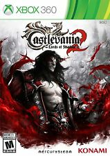Castlevania: Lords of Shadow 2 (Microsoft Xbox 360, 2014) New & factory sealed
