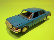 SCHUCO 301612 MERCEDES BENZ 350 SE - BLUE 1:43 - RARE SELTEN - GOOD CONDITION