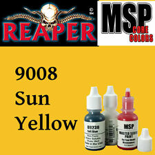SUN YELLOW 9008 - MSP core 15ml 1/2oz paint peinture figurine REAPER MINIATURE
