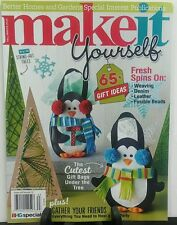 Better Homes & Gardens Make it Yourself 65+ Gift Ideas FREE SHIPPING