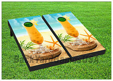VINYL WRAPS Cornhole Boards DECALS Exotic Drink Bag Toss Game Stickers 425