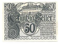 50 He. Gutschein der Gemeinde St. Veit im Pongau, aUNC, Austria