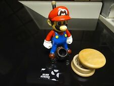 Mario  Ceramic Pipes w/ Grinder, 5 metal Screens Glass Alternative +G