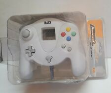 NEW White Naki Advanced Sega Dreamcast Controller Pad W/ Slow Motion & Turbo