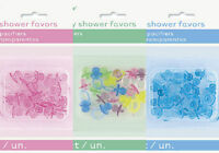 18XPACIFIERS BABY SHOWER PARTY FAVOURS TABLE DECORATIONS PINK BLUE PASTEL