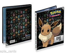 ULTRA PRO POKEMON EEVEE A5 4-POCKET PORTFOLIO / FOLDER / ALBUM - HOLDS 80 CARDS