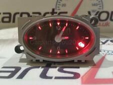 Ford mondeo MK3 01-07 noir face red led analogique horloge temps + gratuit uk poste