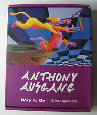 LOW BROW, POP SURREALISM, PUZZLE SIGNED BY ARTIST ANTHONY AUSGANG