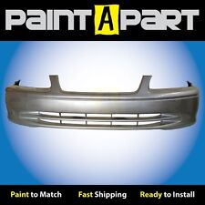 2000 2001 Toyota Camry Front Bumper Painted 1C8 Lunar Mist Metallic