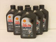 6,58€/l Shell Helix Ultra 5W-40 6 x 1 Ltr Motoröl MB 229.5 226.5 BMW LL-01