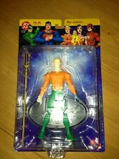 DC Direct JLA Justice League Of America Series 1 Aquaman Figure. MOC