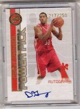 2005 Press Pass Danny Granger Autograph Rookie Basketball Card  217 / 250