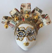 Venezianische Maske  handgemalt  mit Aufhängung in Venedig Venice Mask