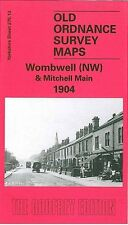MAP OF WOMBWELL (NORTH WEST) & MITCHELL MAIN 1904