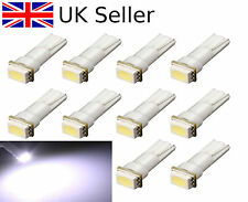 10 x T5 286 5050 SMD LED Car Wedge Speedo Dashboard Side Light Lamp Bulb DC 12V
