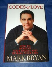 """CODES OF LOVE"" BY: MARK BRYAN  HARDBACK BOOK ~LIKE NEW CONDITION~  *SHIPS FREE*"